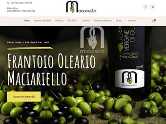 E-commerce Frantoio Maciariello